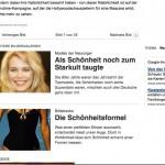 Claudia Schiffers Körper (Unterstellung)