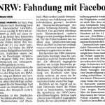 Fahndung mit Facebook
