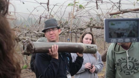 "Touristenführer Ian ""Kobi"" Cooper  in Israel"