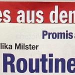 Angelika Milster in der Freizeit Revue: Tod nach Routine-OP?