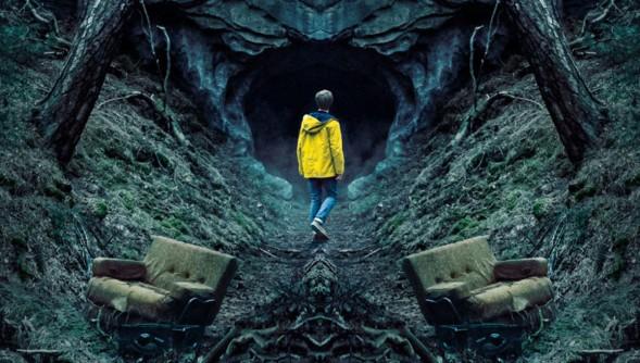 """""""Dark"""": Ey Jonas, bevor Du in die Höhle gehst: Vergiss den Sports Almanac nicht! (Bild: Netflix)"""