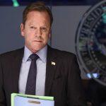 """Vom Outlaw zum Präsident: Kiefer Sutherland, weltbekannt als Jack Bauer in """"24"""", hier in """"Designated Survivor"""" (Netflix/ Screenshot)"""