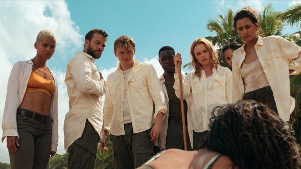 """Die Gestrandeten auf """"The I-Land"""": Nein, das ist keine Szene aus """"Lost"""" (Netflix)"""